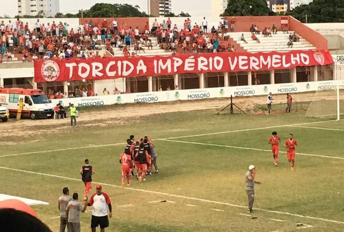 Potiguar de Mossoró x Serra Talhada Estádio Nogueirão (Foto: Ramon Nobre)