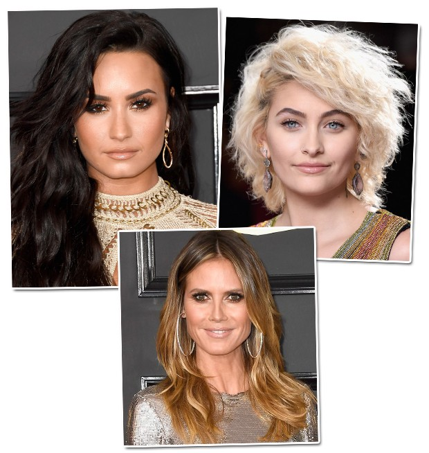 Demi Lovato, Paris Jackson e Chrissy Teigen (Foto: Getty Images)