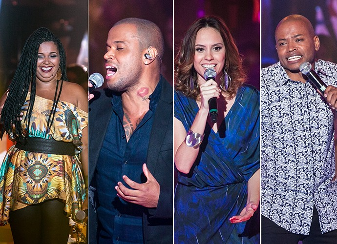 Vozes que já cantaram samba no The Voice Brasil na temporada (Foto: The Voice Brasil / Gshow)