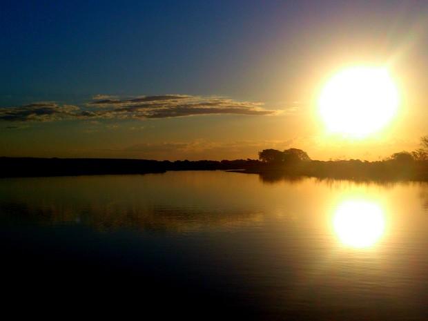 """Rio Paraguai """"é o tronco"""" do sistema do Pantanal, segundo o pesquisador da UFMS (Foto: Nicoli Dichoff/Embrapa Pantanal)"""