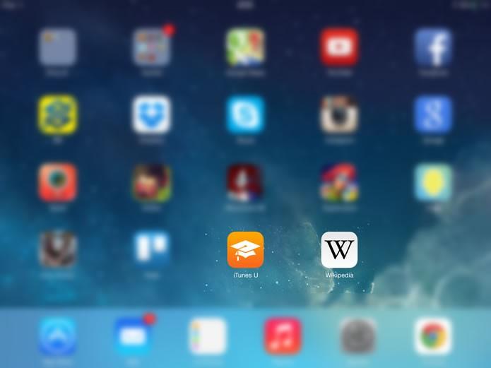 Os ícones de acesso escondidos retornarão a interface do iOS quando o aparelho for reiniciado (Foto: Reprodução/Daniel Ribeiro)