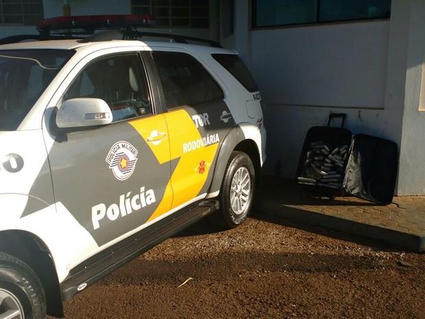 Apreensão foi feita pela Polícia Rodoviária em Ourinhos  (Foto: Polícia Rodoviária / Divulgação)