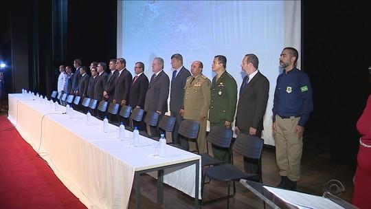 Veja onde irão atuar os 114 novos policiais civis formados em SC