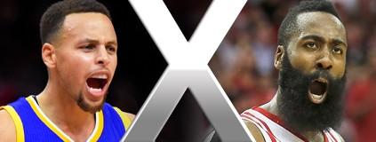 Transmissão no SporTV nesta noite: Warriors x Rockets, a partir de 1h30 (GloboEsporte.com)