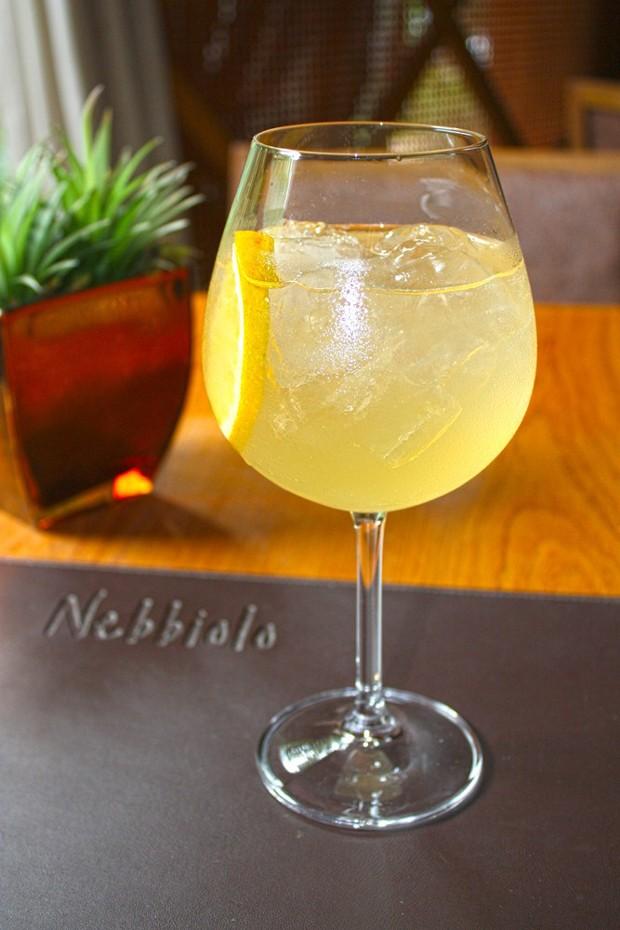 Nebbiolo Spritz, um dos novos drinks da casa (Foto: (Foto: LV2 Assessoria))