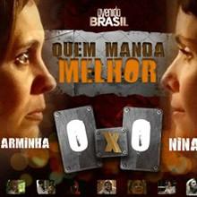 Carminha ou Nina? Assista aos vídeos e vote (Avenida Brasil/TV Globo)