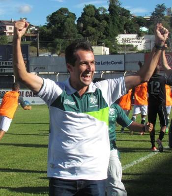 Caldense confirma retorno de Léo Condé para o comando da equipe no Mineiro 2015 (Foto: Assessoria de Imprensa Caldense)