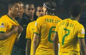 "Leitura labial confirma surpresa de Thiago Silva com pênalti: ""Foi eu?"""