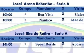 Pernambucano de Futebol 7 tem rodada com alterações neste domingo