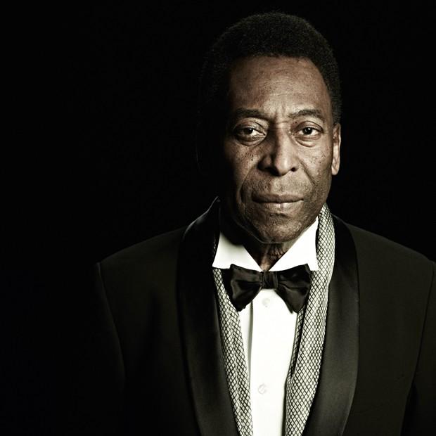 Pelé, em ensaio exclusivo para a GQ (Foto: Mauricio Nahas)