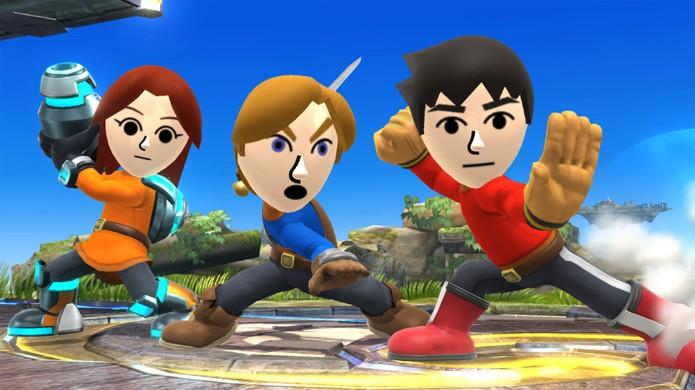 Seu Mii pode virar um lutador personalizado em Super Smash Bros. para Nintendo 3DS (Foto: Nintendo Enthusiast)