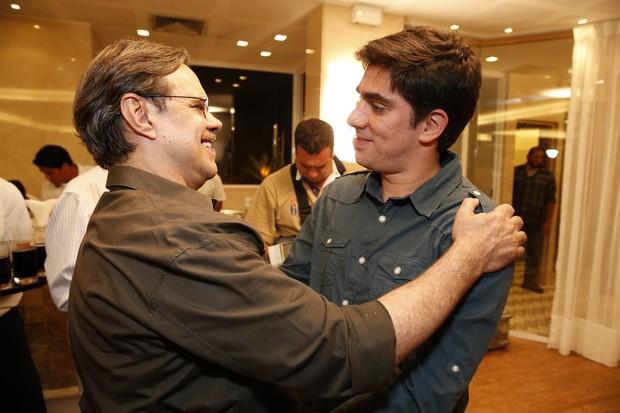 Diogo Vilela e Marcelo Adnet (Foto: Felipe Panfili/ Ag.News)