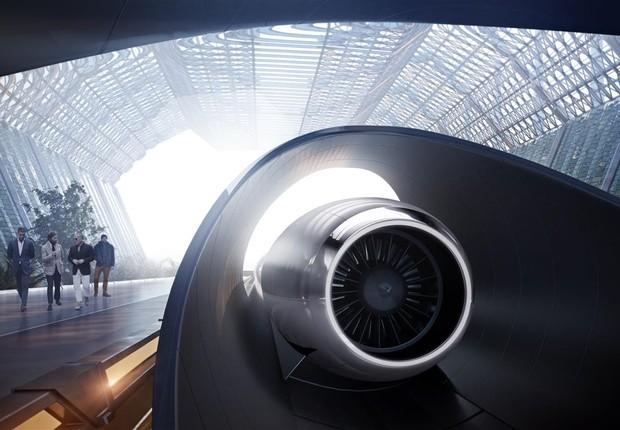 Hyperloop Transportation Technologies (Foto: Divulgação)