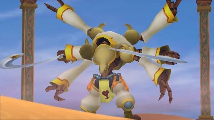 Nome de um fã foi parar em chefe secreto de Kingdom Hearts (Foto: Reprodução / Dario Coutinho)