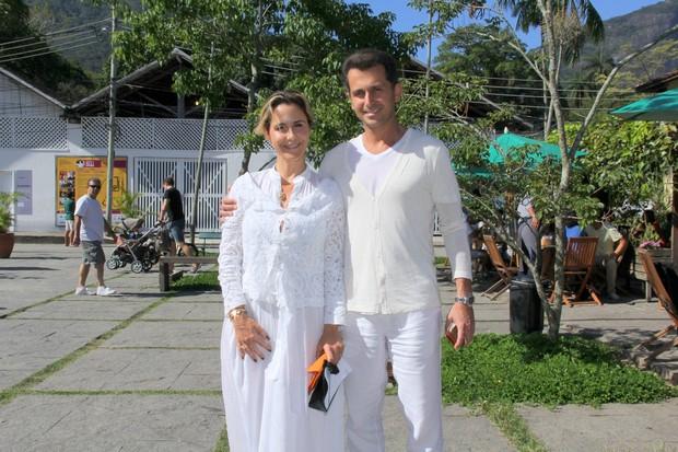 Guilhermina Guinle e o Marido Leonardo Antonelli (Foto: Alex Palarea_Agnews)