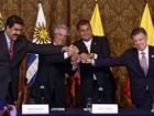 Maduro diz que diálogo com Santos foi 'intenso, tenso e frutífero'