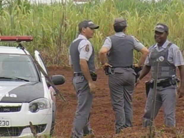 Fuga mobilizou vários policiais militares da região  (Foto: reprodução/TV Tem)