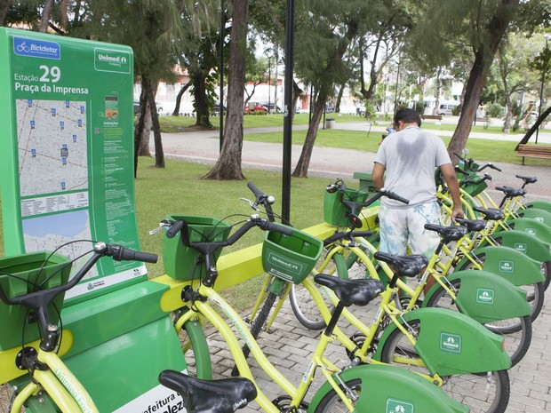 Bicicletar (Foto: Nah Jereissati/Agência Diário)