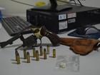 Homem embriagado é preso com revólver, munições e droga em RO