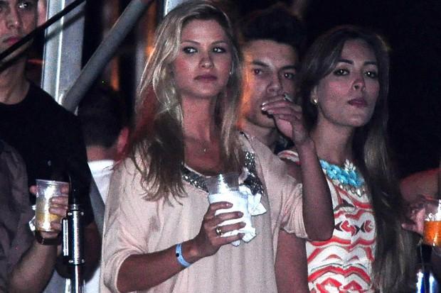 Andressa Suita no show de Gusttavo Lima (Foto: Roberto Teixeira/EGO)