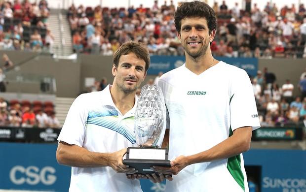 Marcelo Melo e Tommy Robredo, Brisbane, Tênis (Foto: Getty Images)