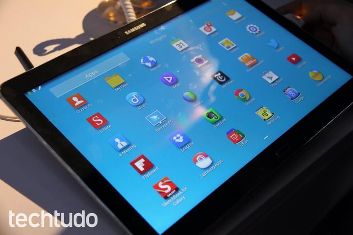 Galaxy Note Pro e Tab Pro (Foto: Isadora Díaz/TechTudo)