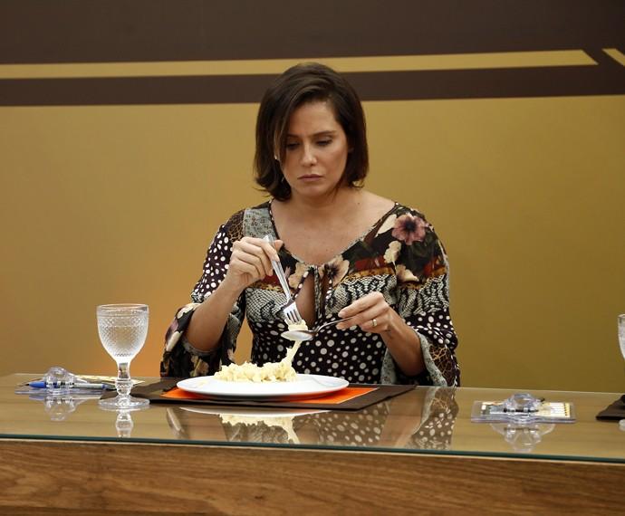 Deborah é uma das juradas do reality do 'Mais Você' (Foto: Raphael Dias/Gshow)