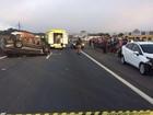 Racha no Paraná mata motorista e deixa passageiros feridos, diz PRF