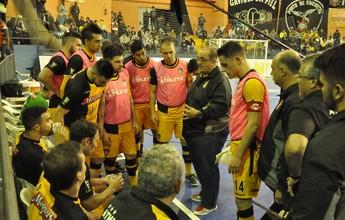 Para voltar a vencer, Sorocaba Futsal enfrenta o Guarapuava pela LNF