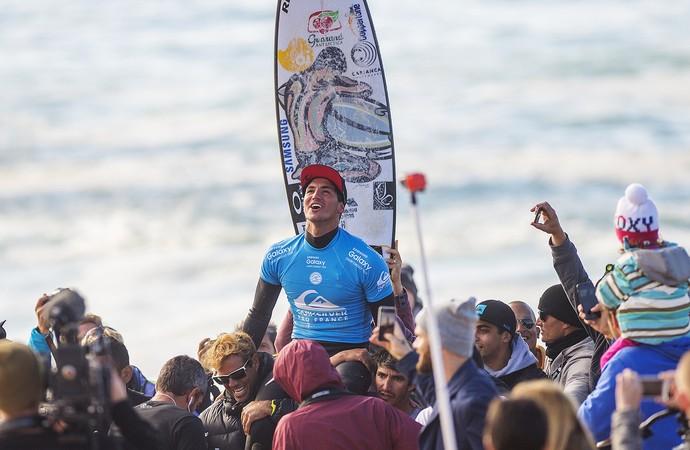 Gabriel Medina campeão França (Foto: WSL / Kirstin)