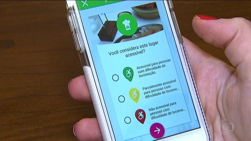 Resultado de imagem para Aplicativo de SP premiado no exterior mostra locais com acessibilidade para cadeirantes