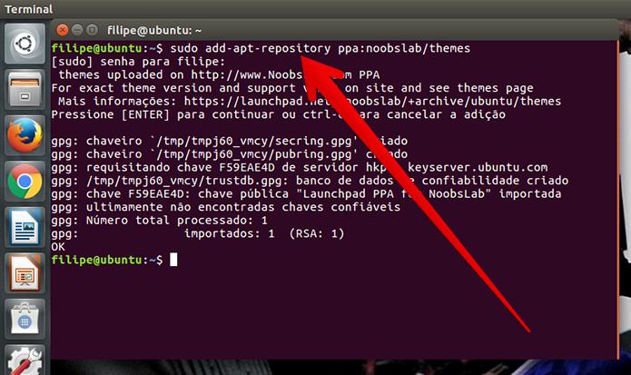 Aguarde o Linux realizar as operações (Foto: Reprodução/Filipe Garrett)