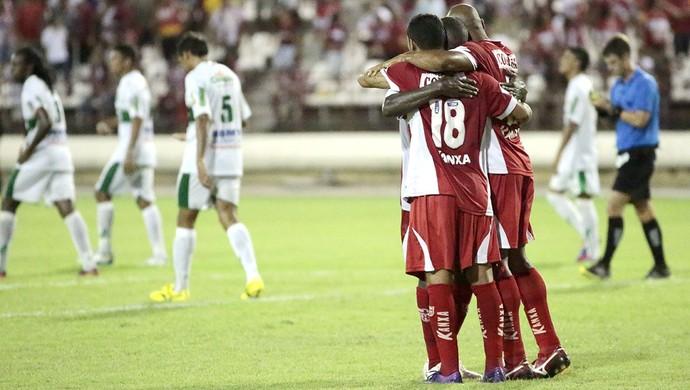 CRB x Murici, no Rei Pelé (Foto: Ailton Cruz/ Gazeta de Alagoas)