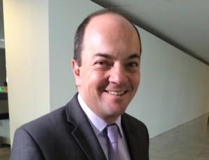 Secretário de futebol do Ministério do Esporte Rogério Hamam