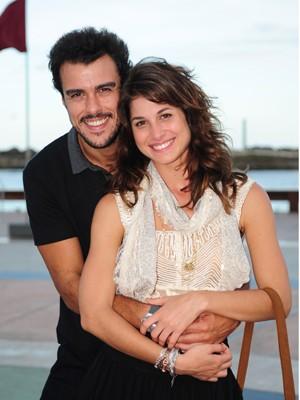 Chandelly e Joaquim serão casal em Geração Brasil (Foto: João Cotta/TV Globo)