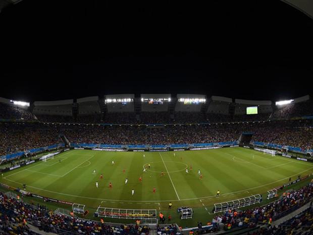 Arena das Dunas foi palco do jogo entre Gana e Estados Unidos (Foto: Getty Images)