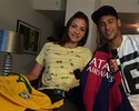 Sem time, Lais Souza é só elogios a Neymar e ainda dá palpite para Fla-Flu
