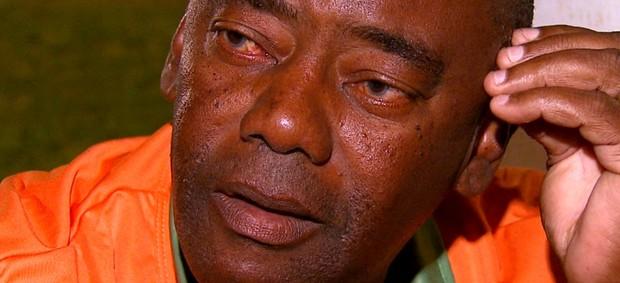 Técnico André Oliveira após a derrota da Francana contra o Velo Clube (Foto: Reprodução/ EPTV)