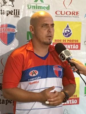 Rodrigo César, Grêmio Prudente (Foto: João Paulo Tilio / GloboEsporte.com)