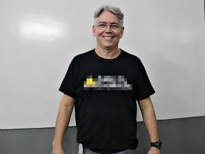 Professor Mário Silva é dono de cursinho pré-vestibular em Manaus (Foto: Gabriel Machado/G1 AM)