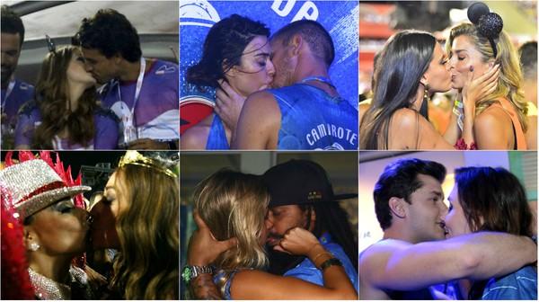 Qual o melhor beijo do último dia do carnaval 2016? Vote agora!