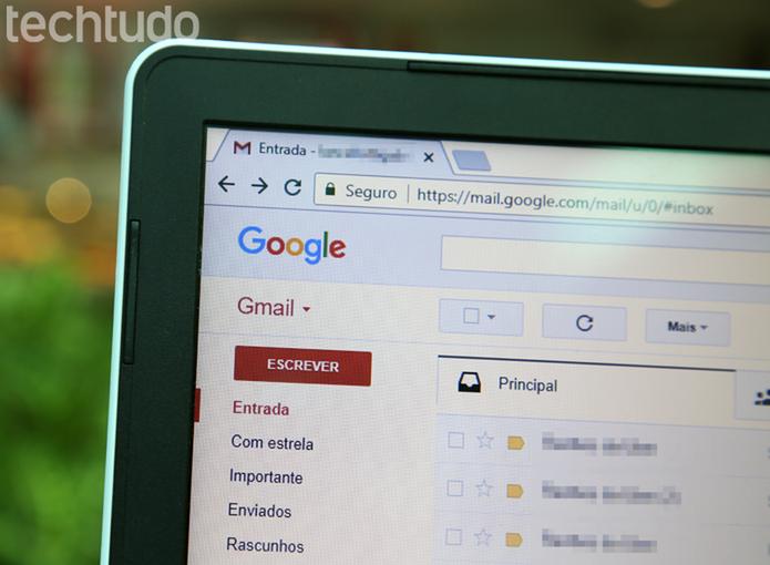 Gmail é um dos serviços de e-mail mais usados no mundo (Foto: Carolina Ochsendorf/TechTudo)