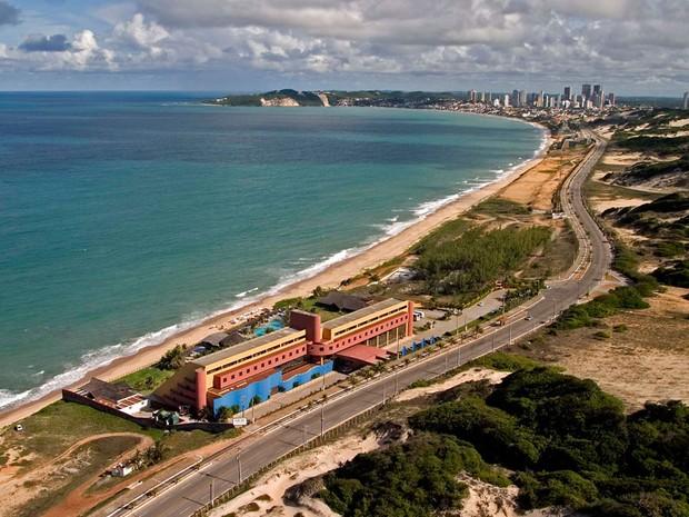 Via Costeira, em Natal (Foto: Canindé Soares)