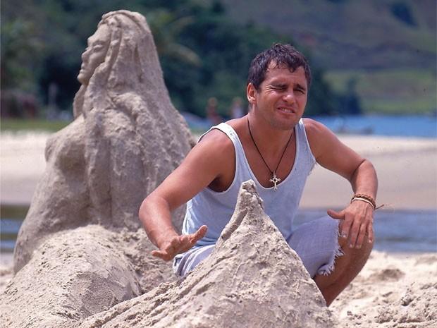 Marcos Frota interpretou o inesquecvel Tonho da Lua (Foto: CEDOC/ TV Globo)