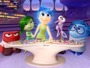 'Divertida mente', filme da Pixar, mostra como são lidam as emoções na cabeça das pessoas
