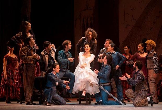 Ópera Dom Quixote, de Jules Massenet, será realizada pela Fundação Teatro Municipal (Foto: Heloísa Bortz / Divulgação)