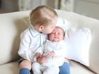 Princesa Charlotte será batizada neste domingo no Reino Unido