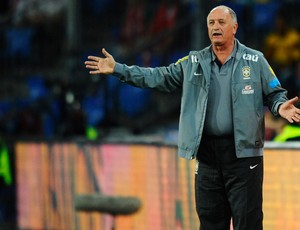 Felipão Scolari, Suiça x Brasil (Foto: Getty Images)