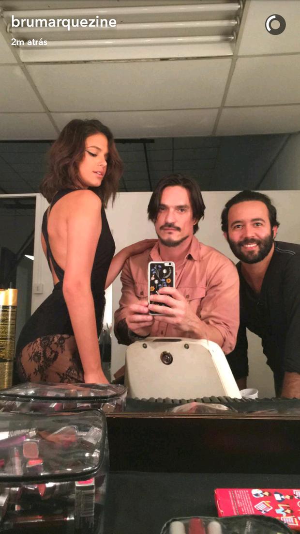 Bruna Marquezine (Foto: Reprodução Snapchat)