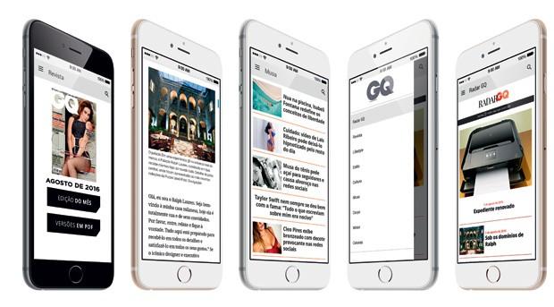 Novo app da GQ Brasil traz tudo e mais um pouco. Já baixou? (Foto: GQ Brasil)